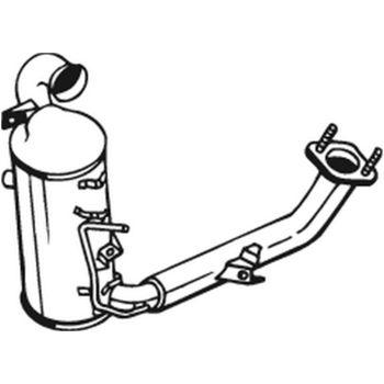 Teilebild Ruß-/Partikelfilter, Abgasanlage