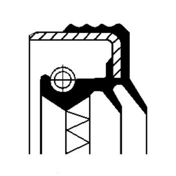 Teilebild Wellendichtring, Schaltgetriebe
