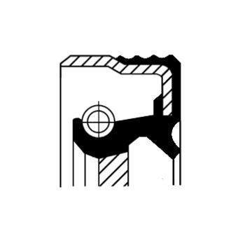 Teilebild Wellendichtring, Kurbelwelle