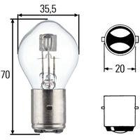 Glühlampe, Hauptscheinwerfer
