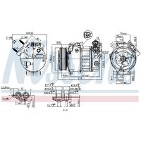 Kompressor, Klimaanlage